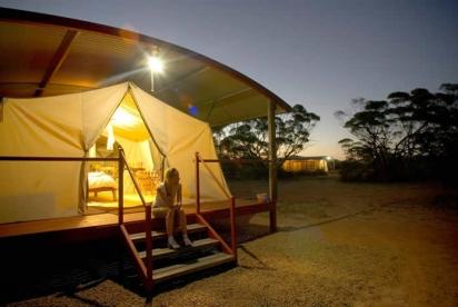 Gawler Ranges campsite
