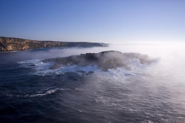 KI coastline