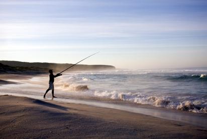 SOL beach fishing